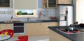 Nên đặt bếp ở góc tường hay góc nhà
