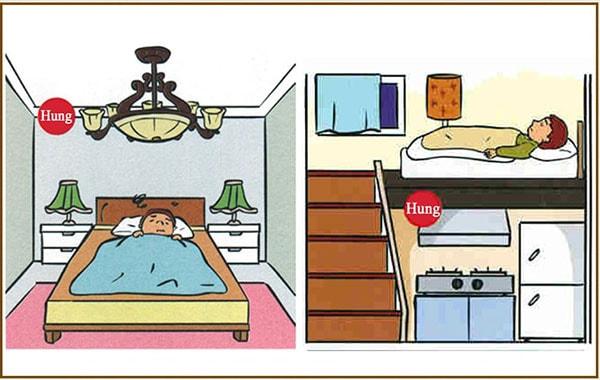 Sai lầm khi bố trí, sắp xếp phòng ngủ và phòng bếp