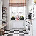 Chọn màu sắc sáng - cách bố trí nhà bếp nhỏ
