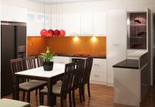 bếp căn hộ chung cư