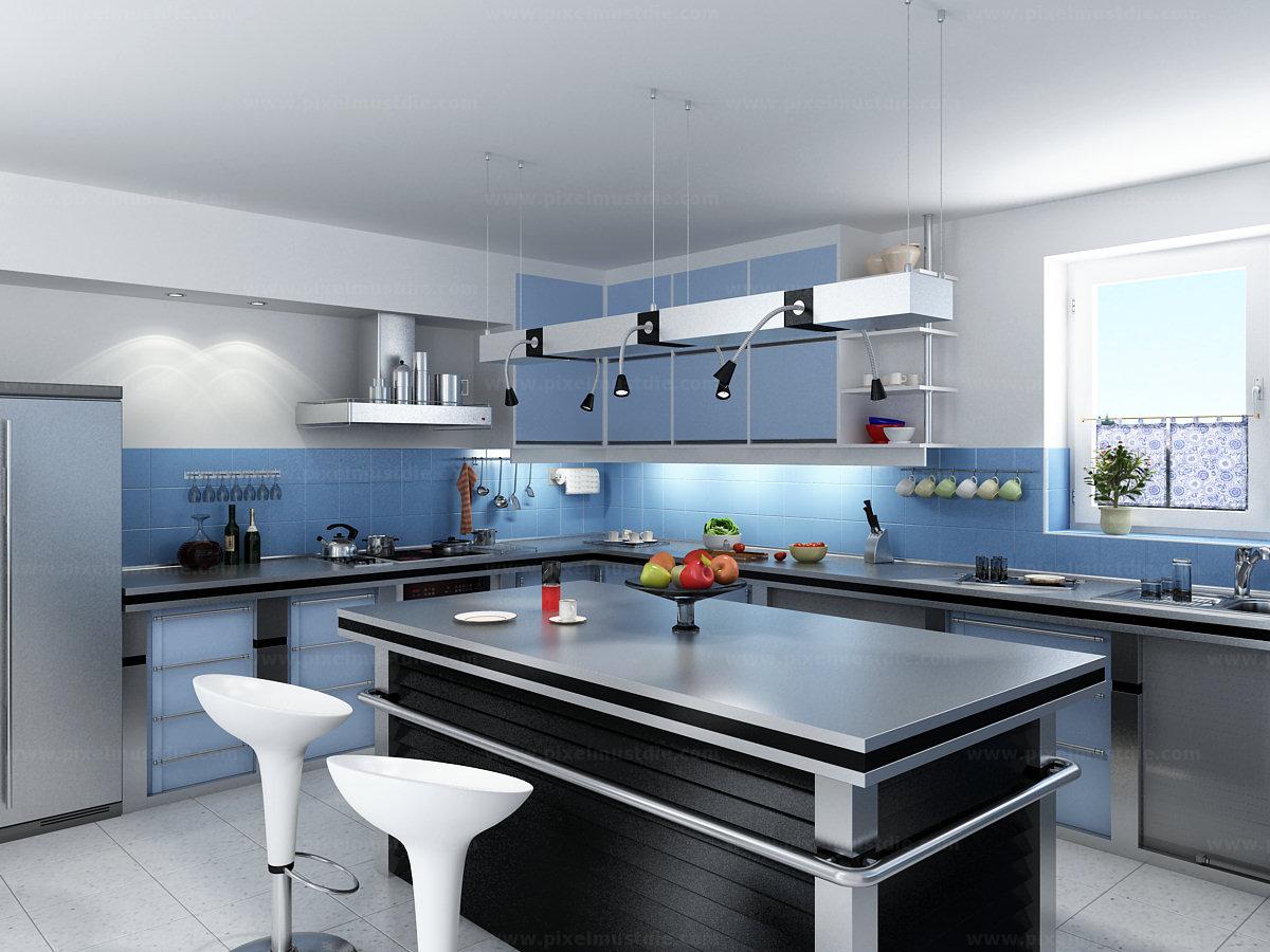 mẫu bếp chung cư