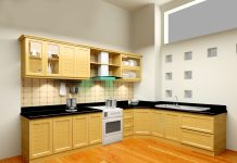 mẫu tủ bếp cho chung cư nhỏ