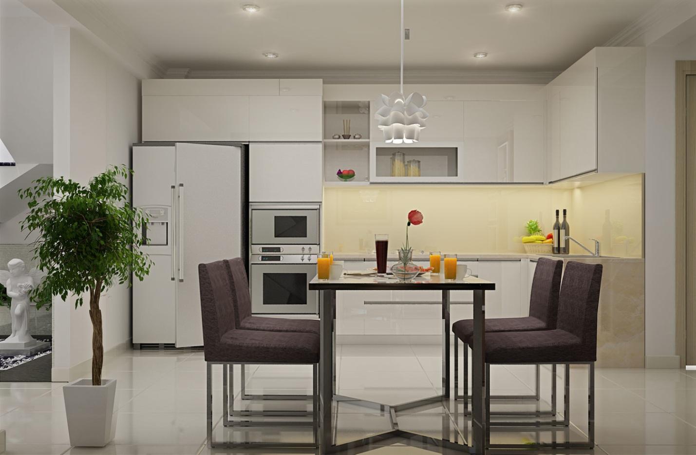 bếp đẹp cho nhà chung cư