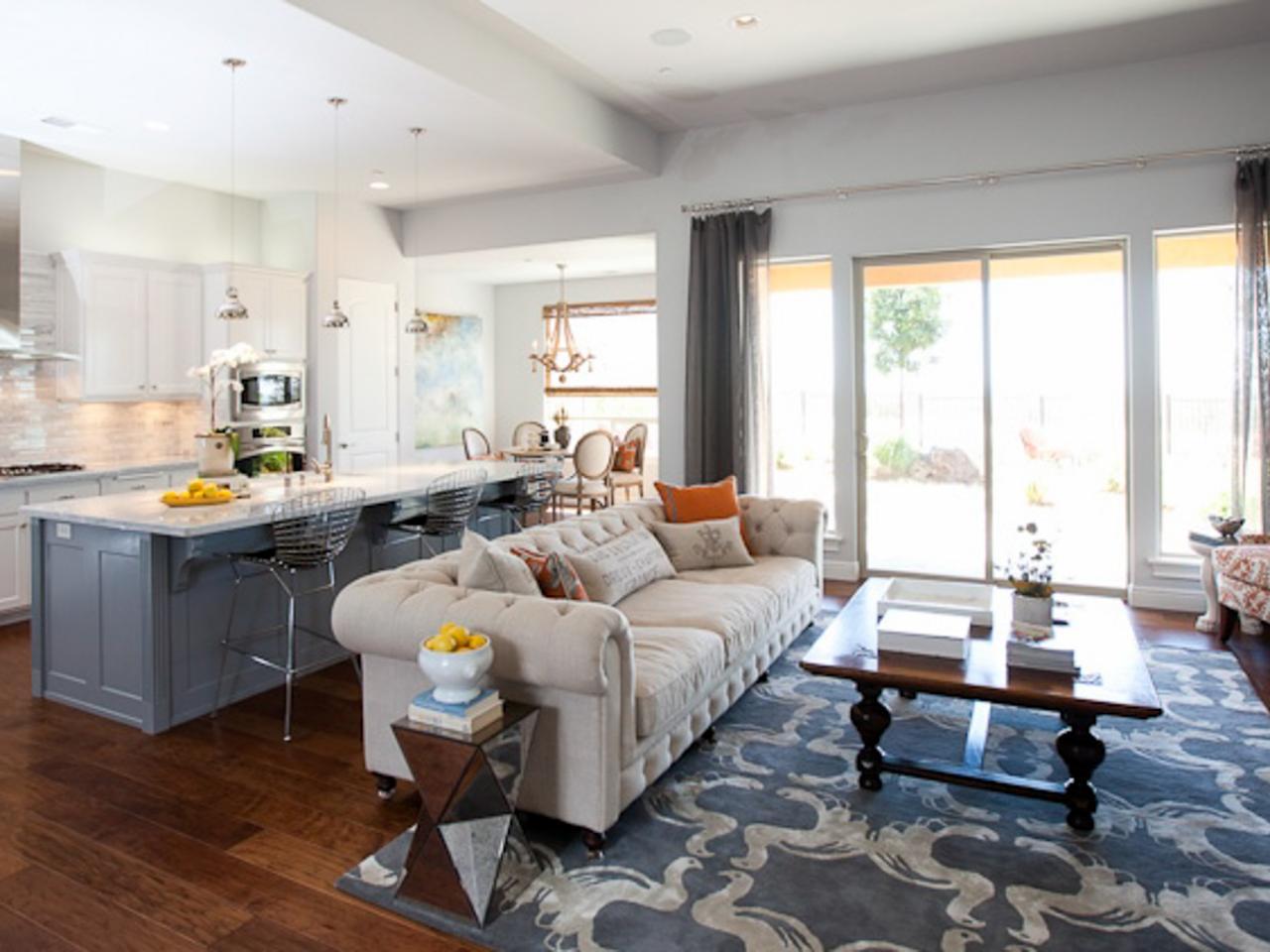 phòng khách và bếp chung 4
