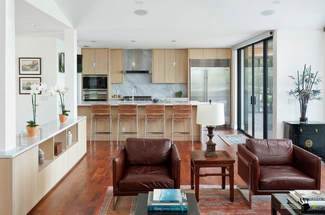 phòng khách và bếp chung1