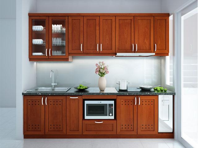 tủ bếp chung cư nhỏ - chữ I