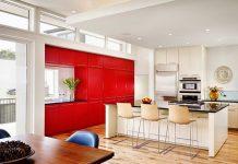 thiết kế phòng khách và bếp chung 3