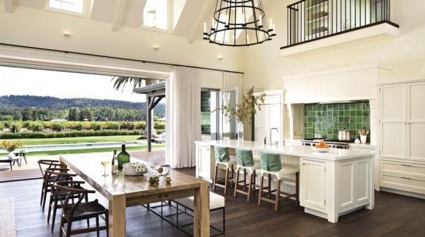 thiết kế phòng khách và bếp chung 4