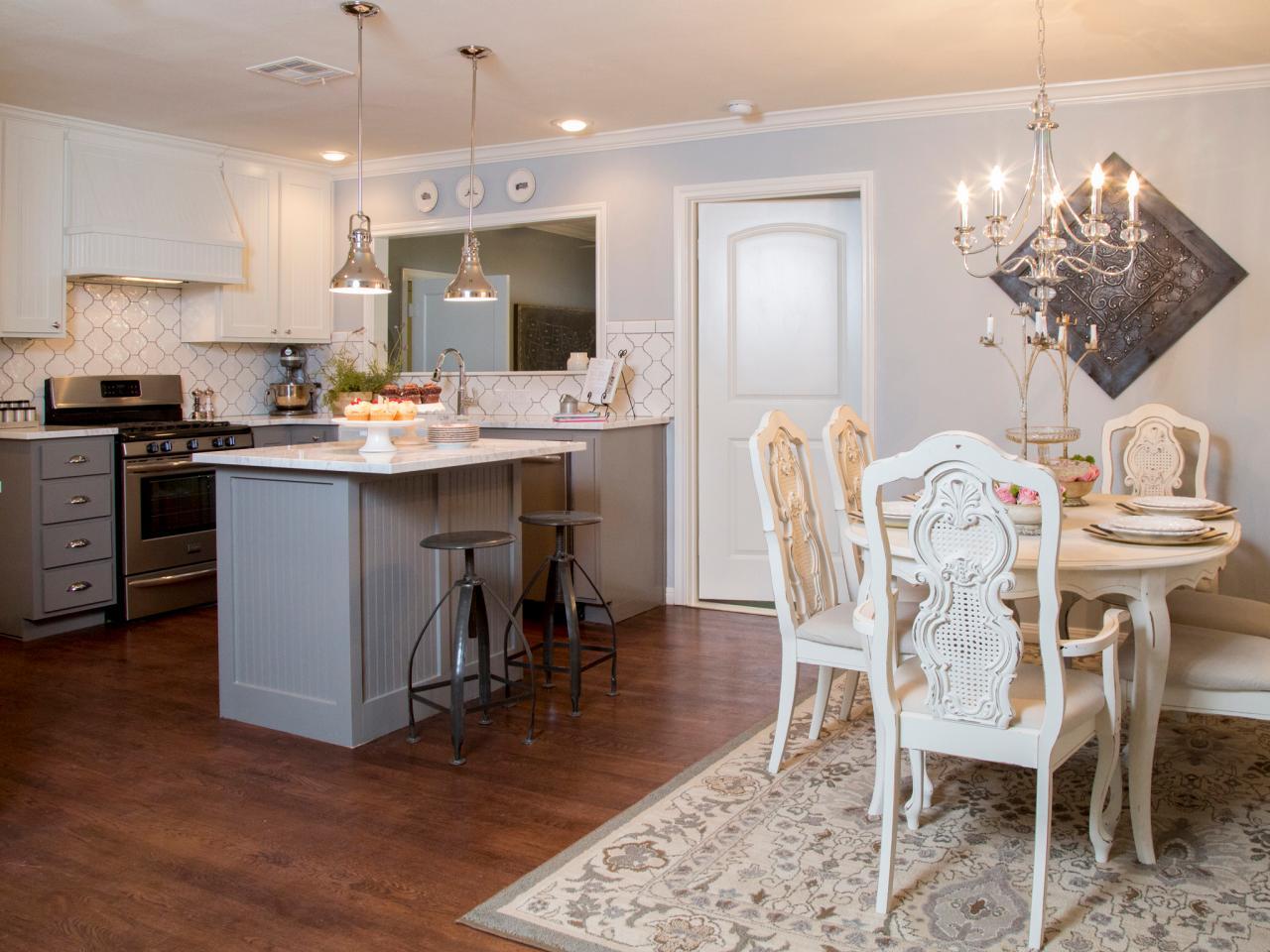 thiết kế phòng khách và bếp chung2
