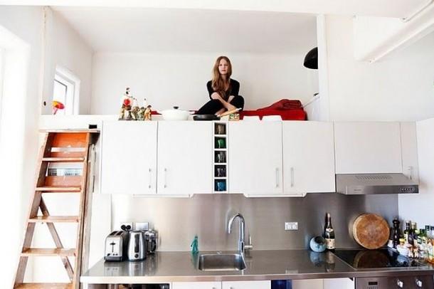 Cách khắc phục phòng ngủ gần phòng bếp