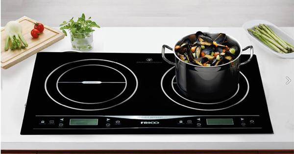 Thiết kế mặt kính bếp điện từ Frico