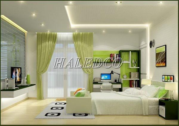 Chọn màu sáng ấm cho không gian phòng ngủ