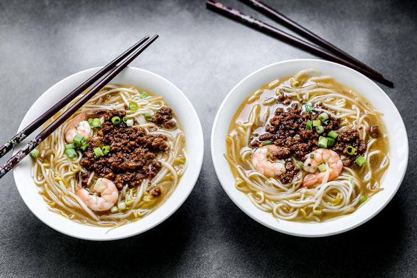 Đừng bỏ lỡ mì Danzi khi ghé thăm Đài Loan. Ảnh: blogspot